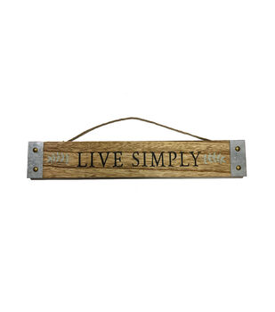 In the Garden Wall Decor-Live Simply