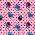 Disney Valentine\u0027s Day Stitch Cotton Fabric-True Love