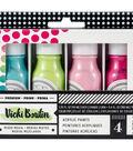 Vicki Boutin Mixed Media Color Pop Acrylic Paint 1.7oz 4/Pkg-Set 3