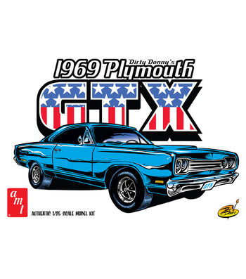 AMT 1969 Dirty Donny's Plymouth GTX 1:25 Scale Model Car Kit