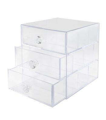 Park Lane 3-drawer Washi & Papercrafting Supplies Storage