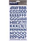 Thickers Chipboard Alphabet Stickers 5.625x11\u0022 Sheet-Macaw