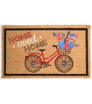 Americana Patriotic Coir Mat-Home Sweet Home
