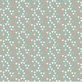 Nursery Cotton Fabric 43\u0027\u0027-Coral & White Triangles on Mint