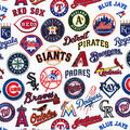 All Team Cotton Fabric-Tossed