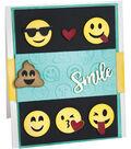 Sizzix Thinlits Textured Impressions By Lindsey Serata-Smile Emojis