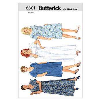 Butterick Womens Dress-B6601