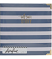 Heidi Swapp Storyline2 D-Ring Album-Watercolor, , hi-res