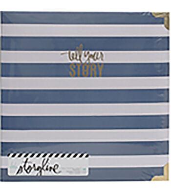Heidi Swapp Storyline2 D-Ring Album-Watercolor