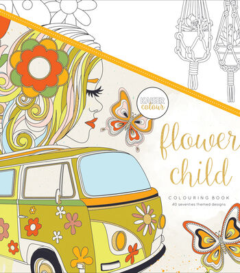 Flwr Child-kaiser Coloring Book