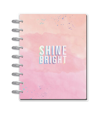 The Happy Planner 80-sheet 7''x9.25'' Journal-Shine Bright