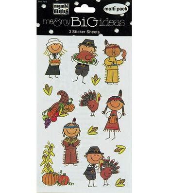 Thanksgiving Kids Stickers