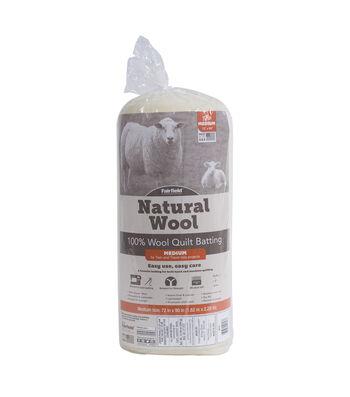 "Fairfield Natural Wool - 100% Sheep's Wool Twin Size 72"" x 90"""