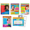 Technology (Primary) Learning Charts Combo Pack 5 Per Pack 2 Packs