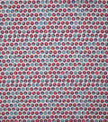 Novelty Cotton Fabric-Tie Dye Donuts