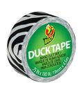 Mini Duck Tape .75\u0022 Wide 15\u0027 Roll-Zebra