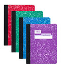 Mead Fashion Composition Book, Assorted Colors, Pack of 12