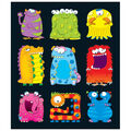 Carson Dellosa Monsters Prize Pack Stickers 12 Packs