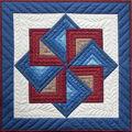 Starspin Wall Quilt Kit-22\u0022X22\u0022