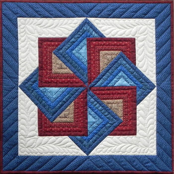 "Starspin Wall Quilt Kit-22""X22"""