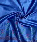 Disney Frozen Satin Fabric 58\u0022-Anna Light Blue