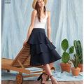 Simplicity Pattern 8388 Misses\u0027 Skirts-Size H5 (6-8-10-12-14)