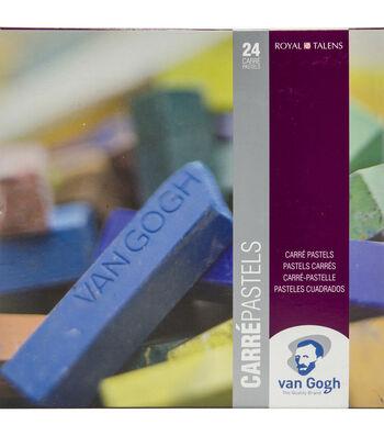 Van Gogh Carre Oil Pastels Set 24/Pkg-General Selection