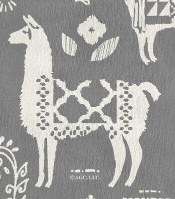 """Anti-Pill Fleece Fabric 61""""-Peruvian Llamas"""
