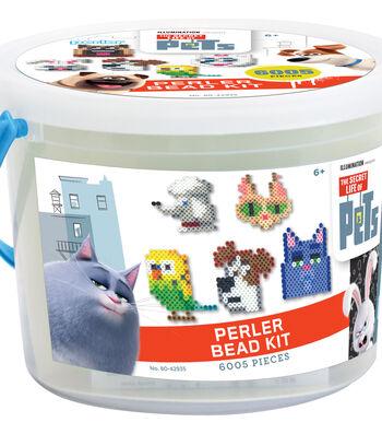 Perler Fused Bead Bucket Kit-Secret Life Of Pets