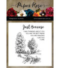 Paper Rose Clear Stamps-Into The Woods