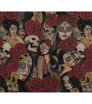 Halloween Cotton Fabric-Nocturna
