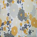 Quilter\u0027s Showcase Cotton Fabric-White Gray Mum Bursts