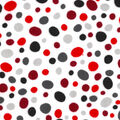Snuggle Flannel Fabric -Pebbles Red