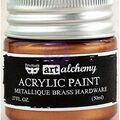 Prima Marketing Art Alchemy 1.7 oz. Acrylic Paint-Metallique Brass