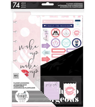 The Happy Planner Girl Classic Planner Accessory Pack-Glam Girl