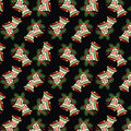 Christmas Cotton Fabric-Jingle Bells with Glitter