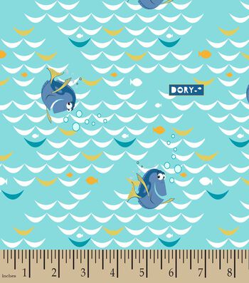 Disney Finding Dory at Sea Print Fabric