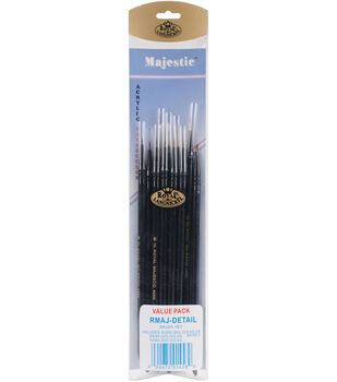 Royal & Langnickel Majestic 11 pk Acrylic Watercolor Value Pack Brushes