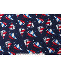 Blizzard Fleece Fabric 59\u0022-Sailboats Tossed