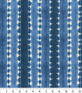 Waverly Outdoor Fabric 54\u0027\u0027-Indigo Java Journey