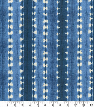 Waverly Outdoor Fabric 54''-Indigo Java Journey