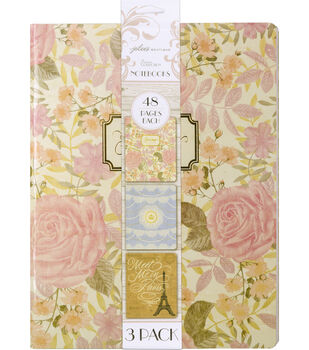 Jolee's Boutique Parisian Notebooks 3-Pack