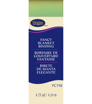"Wrights Single Fold Print Blanket Binding-2""W x 4-3/4yds"