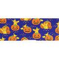 Pokemon Halloween Fleece Fabric-Pikachu & Pumpkins