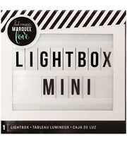 Heidi Swapp Marquee Love Mini Lightbox-White, , hi-res