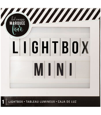 Heidi Swapp Marquee Love Mini Lightbox-White