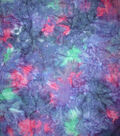 Wide Cotton Fabric-Purple Tonal