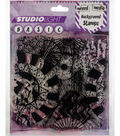 Studio Light Mixed Media 5\u0022X5\u0022 Background Stamp-