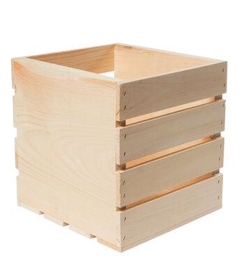 Basic Square Wood Crate