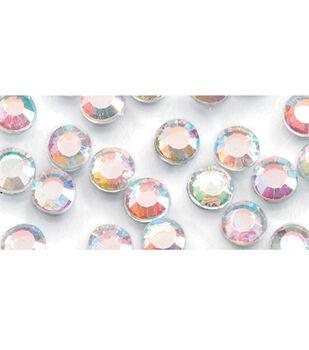 Rhinestone Setter Hot-Fix Glass Stones 4mm 750/Pkg-Crystal AB